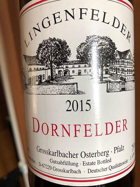 Lingenfelder Dornfelder