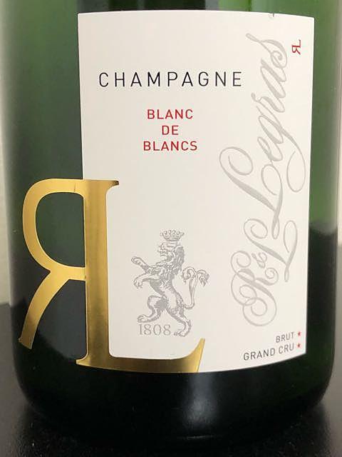 R&L Legras Blanc de Blancs Brut Grand Cru(ルグラ ブラン・ド・ブラン ブリュット グラン・クリュ)