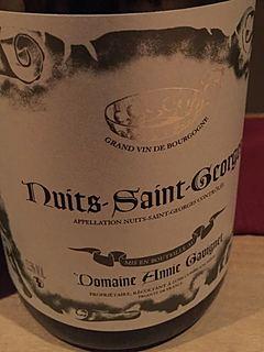 Dom. Annie Gavignet Nuits Saint Georges(ドメーヌ・アニー・ガヴィネ ニュイ・サン・ジョルジュ)