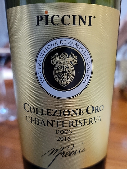 Piccini Collezione Oro Chianti Riserva(ピッチーニ コレッツィオーネ・オロ キャンテイ リゼルヴァ)
