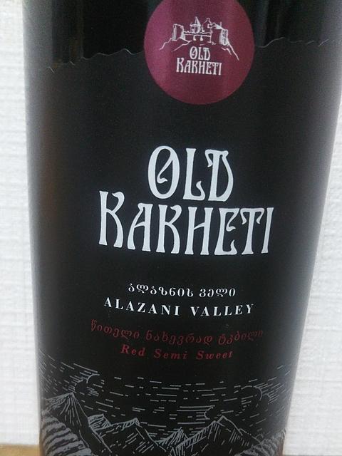 Old Kakheti Alazani Valley Red Semi Sweet