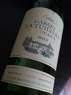 Ch. Garon La Tuilière(シャトー・ガロン・ラ・テュイリエール)