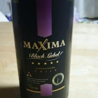 Maxima Black Label Carmenere(マキシマ ブラック・ラベル カルムネール)