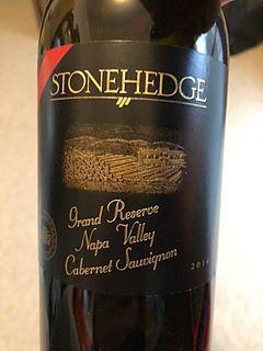 Stonehedge Grand Reserve Napa Valley Cabernet Sauvignon(ストーンヘッジ グランド・リザーヴ ナパ・ヴァレー カベルネ・ソーヴィニヨン)