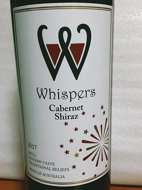 Whispers Cabernet Shiraz