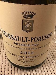 Dom. des Comtes Lafon Meursault Porusots 1er Cru(ドメーヌ・デ・コント・ラフォン ムルソー ポリュゾ プルミエ・クリュ)