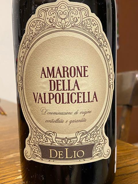 DeLio Amarone della Valpolicella(デリオ アマローネ・デッラ・ヴァルポリチェッラ)