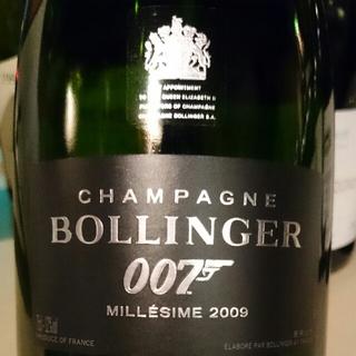 Bollinger La Grande Année Brut James Bond Edition 007(ボランジェ ラ・グランダム・ブリュット ジェームス・ボンド・エディション 007)