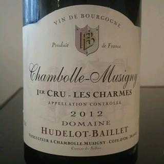 Dom. Hudelot Baillet Chambolle Musigny 1er Cru Les Charmes