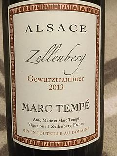 Marc Tempé Gewürztraminer Zellenberg