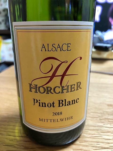 Horcher Pinot Blanc(オルシェ ピノ・ブラン)