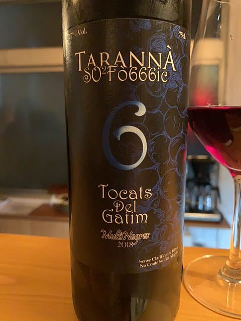 Celler Tarannà Po-ètic 6 Tocats del Gatim(セリェール・タランナ・ ポエティック シス トカツ・デル・ガティム)