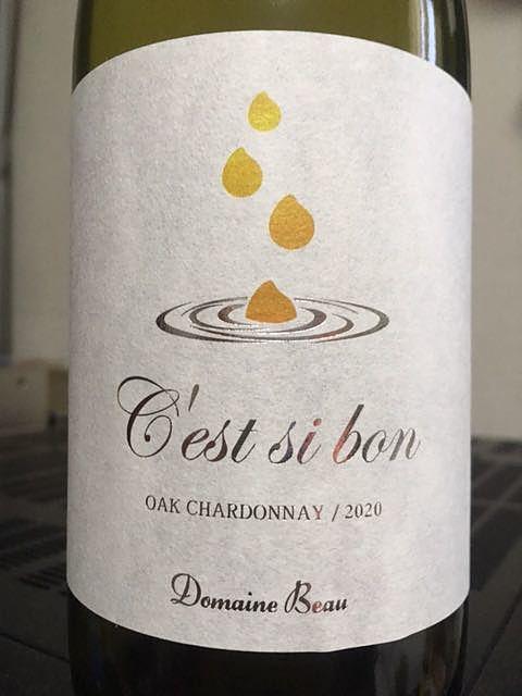 Dom. Beau C'est si bon Oak Chardonnay(ドメーヌ・ボー セシボン オーク・シャルドネ)