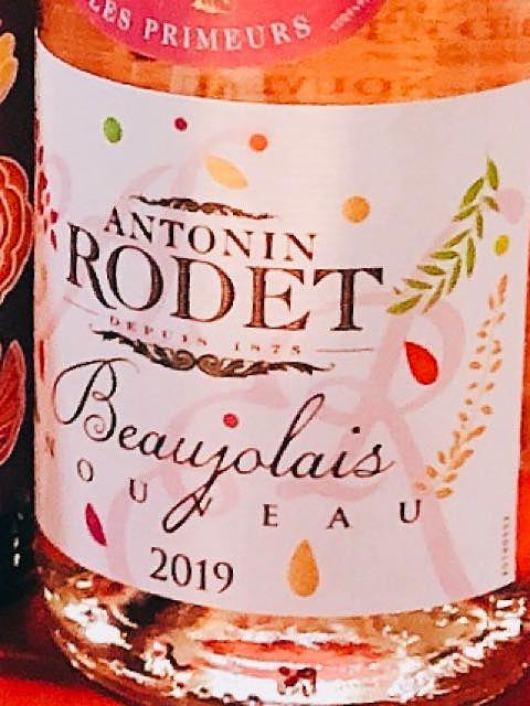 Antonin Rodet Beaujolais Nouveau Rosé