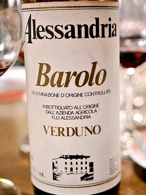 Fratelli Alessandria Barolo Verduno(フラテッリ・アレッサンドリア バローロ ヴェルドゥノ)