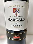 Calvet Margaux Réserve de L'Île(2015)