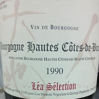 Lou Dumont Léa Sélection Bourgogne Hautes Côtes de Beaune Rouge