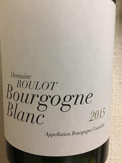 Dom. Roulot Bourgogne Blanc(ドメーヌ・ルーロ ブルゴーニュ ブラン)