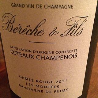 Bérèche & Fils Coteaux Champenois Les Montées Ormes Rouge