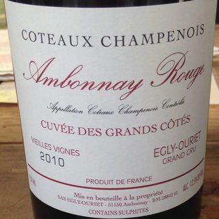 Egly Ouriet Ambonnay Rouge Cuvée des Grands Cotes Vieilles Vignes
