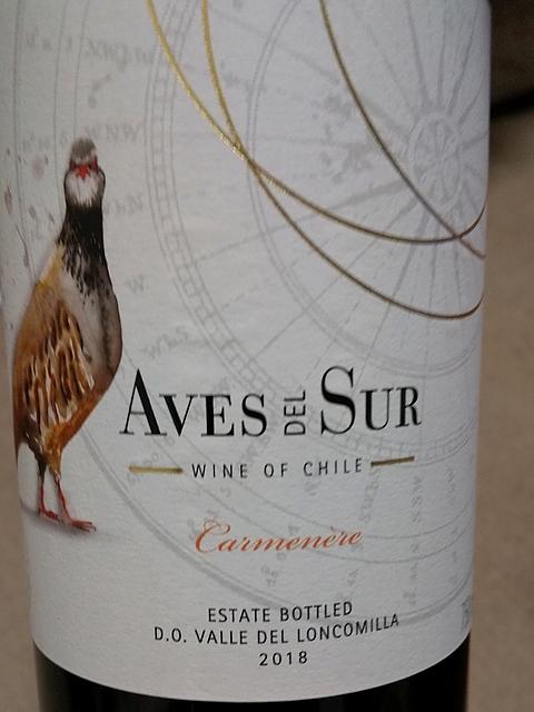 Aves Del Sur Carmenére