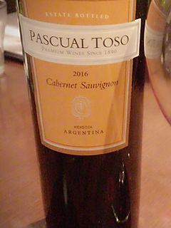 Pascual Toso Cabernet Sauvignon(パスカル・トソ カベルネ・ソーヴィニヨン)