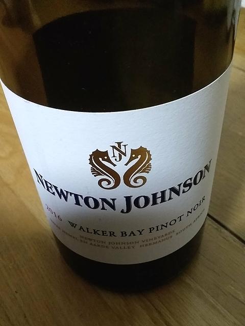 Newton Johnson Walker Bay Pinot Noir(ニュートン・ジョンソン ウォーカー・ベイ ピノ・ノワール)