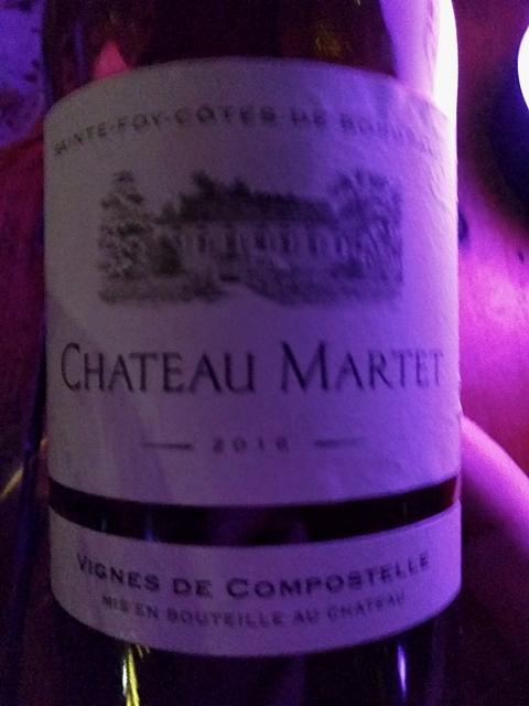 Ch. Martet Vignes de Compostelle(シャトー・マルテ ヴィーニュ・ド・コンポステル)