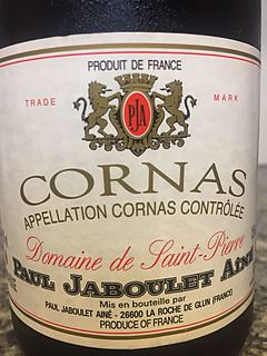 Paul Jaboulet Ainé Cornas Dom. de Saint Pierre