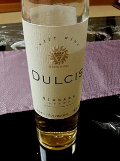 マンズワイン Dulcis Niagara