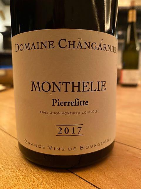 Dom. Changarnier Monthélie Pierrefitte(ドメーヌ・シャンガルニエ モンテリー ピエールフィトゥ)