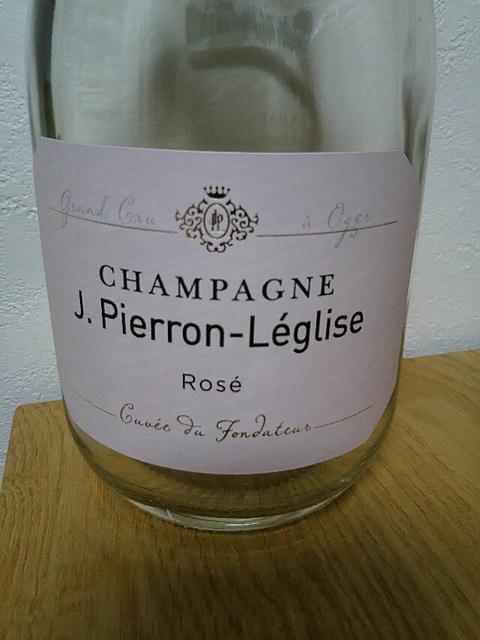 J. Pierron Léglise Rosé Cuvée du Fondateur Grand Cru(ジ・ピエロン・レグリーズ ロゼ キュヴェ・デュ・フォンダトゥール グラン・クリュ)