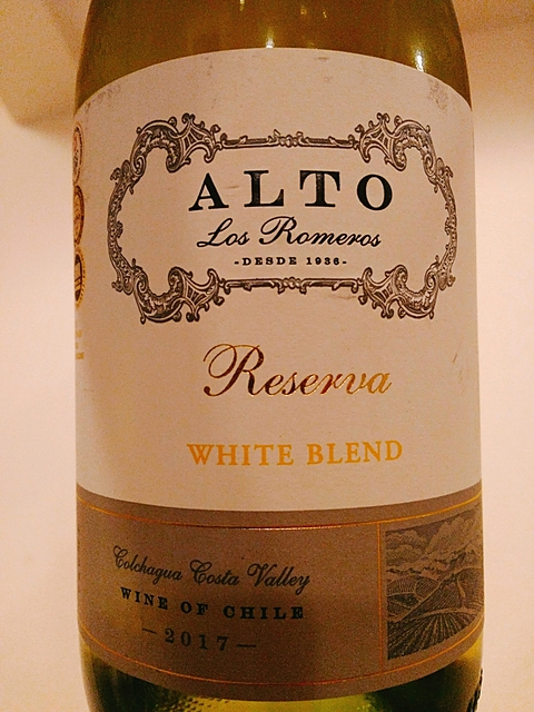 Alto Los Romeros Reserva White Blend