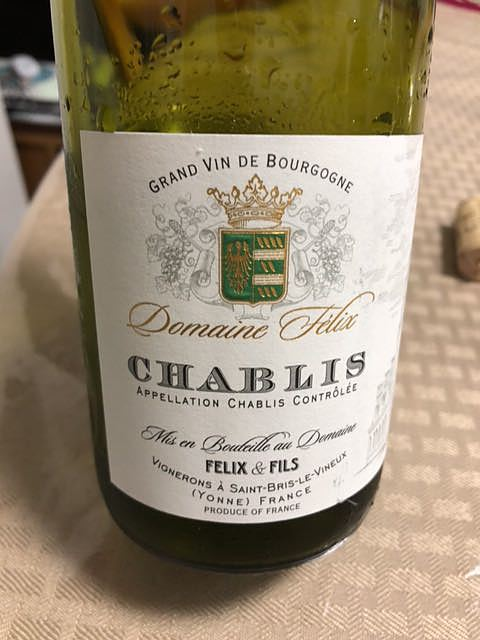 Dom. Félix Chablis(ドメーヌ・フェリックス シャブリ)