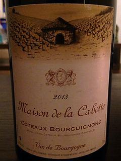 Maison de la Cabotte Coteaux Bourguignons(メゾン・ド・ラ・カボット コトー・ブルギニヨン)