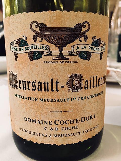 Dom. Coche Dury Meursault Caillerets 1er Cru