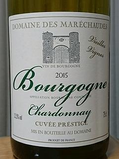 Dom. des Maréchaudes Bourgogne Chardonnay Cuvée Prestige Vieilles Vignes