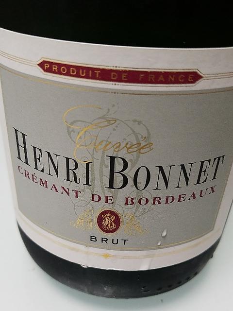 Henri Bonnet Crémants de Bordeaux Brut
