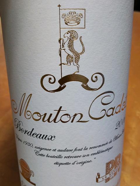 Mouton Cadet Bordeaux Rouge Classique