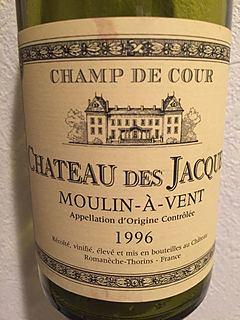 Louis Jadot Ch. des Jacques Moulin à Vent Champ de Cour