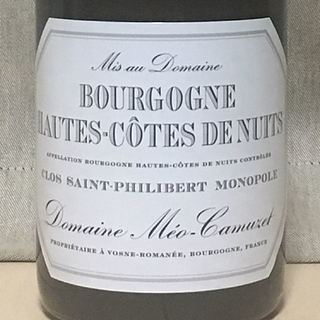Dom. Méo Camuzet Bourgogne Hautes Côtes de Nuits Clos Saint Philibert Monopole