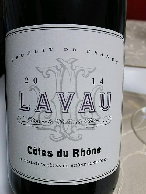 Lavau Côtes du Rhône Rouge