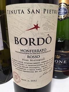 Tenuta San Pietro Bordò Monferrato Rosso(テヌータ・サン・ピエトロ ボルド モンフェラート・ロッソ)