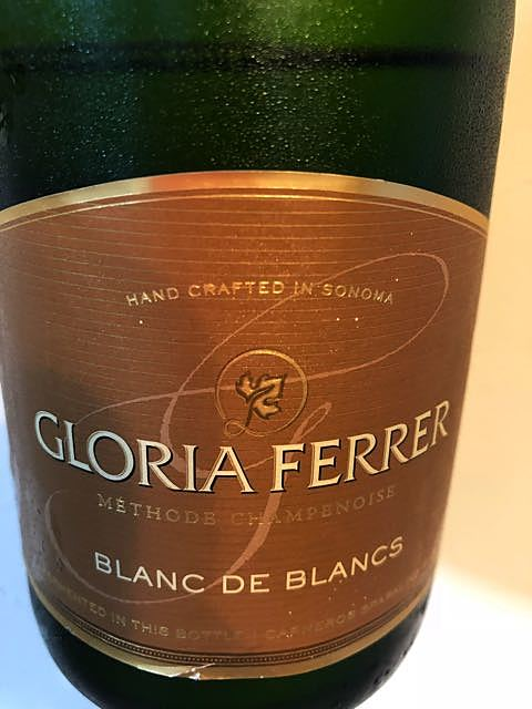 Gloria Ferrer Blanc de Blancs(グロリア・フェラー ブラン・ド・ブラン)