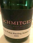 Schmitges Erdener Prälat Riesling Auslese***(2005)