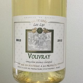 Vouvray Off Dry Les Lys