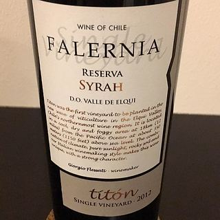 Falernia Titon Single Vineyard Syrah Reserva