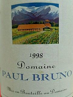 Dom. Paul Bruno Cabernet Sauvignon
