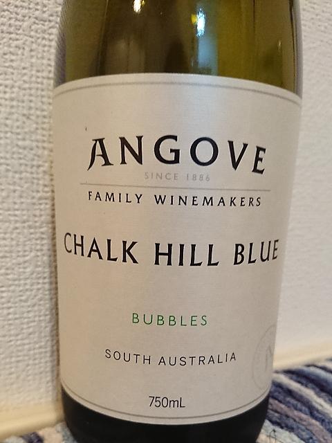 Angove Chalk Hill Blue Bubbles(アンゴーヴ チョーク・ヒル・ブルー バブルス)