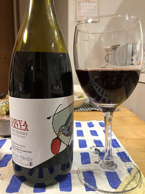 Corva Gialla Vino Rosso Poggio Pastene(コルヴァ・ジャッラ ヴィノ・ロッソ ポッジョ・パステーネ)